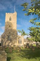 The real Cotswold St. Leonard's Church