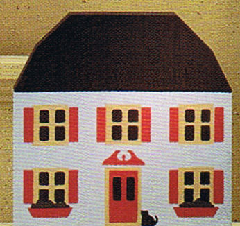 Brocke House 1984 Series II Cats Meow Village