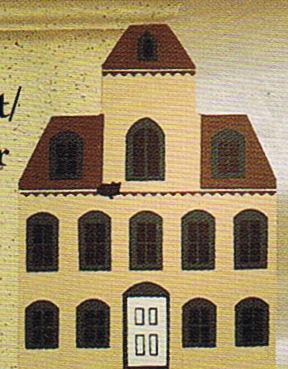 Eaton House Cats Meow Houses 1984 Series II