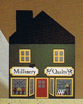 1984 Series II Millinary/Quilt Shop-Cats Meow Village