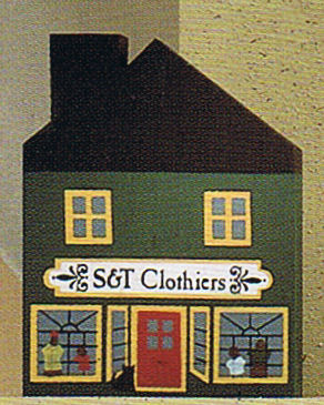 S and T Clothiers cats meow village series II