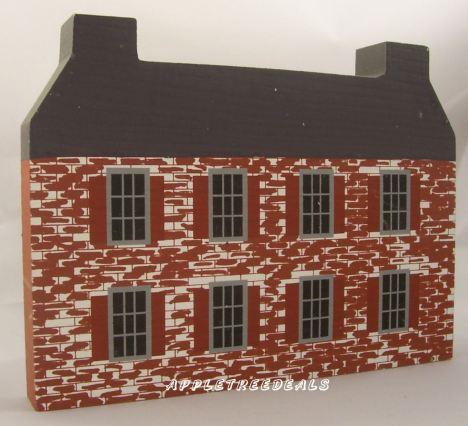 John Belville House - Back - Cats Meow Houses