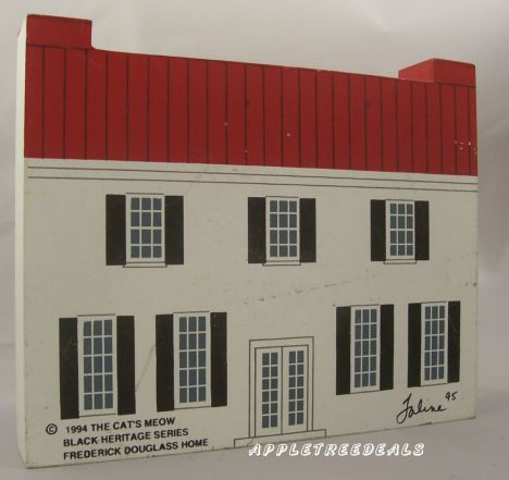 Frederick Douglas House Cats Meow Village - Front
